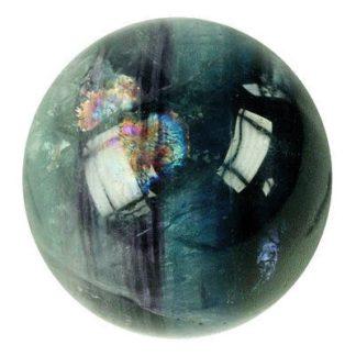 boule de massage fluorite