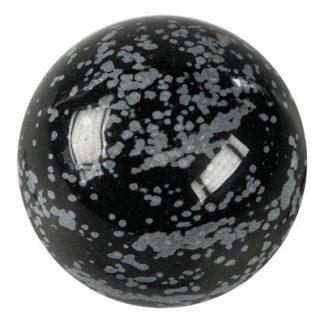 boule de massage obsidienne mouchetée