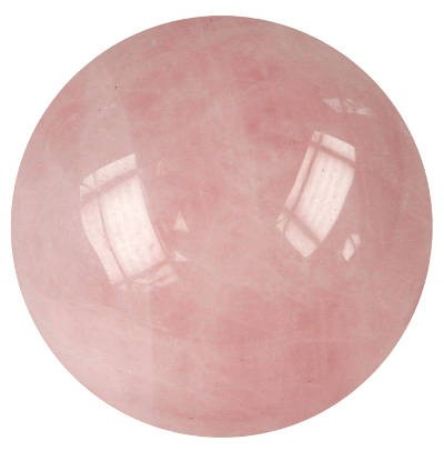 Boule de massage : quartz rose