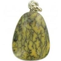 pendentif opale mousse