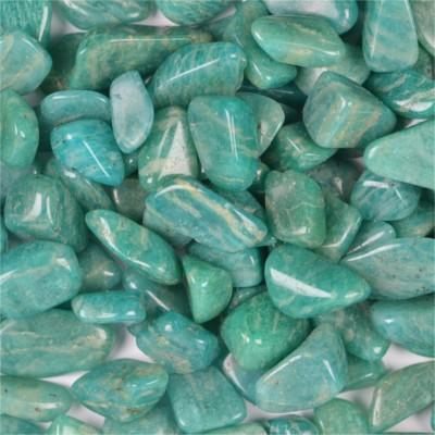pierre roulée en amazonite