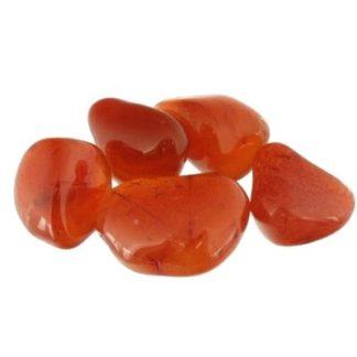 pierre roulée cornaline