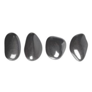 pierre roulée hématite
