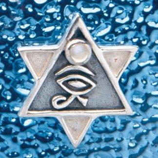 pendentif hexagramme horus