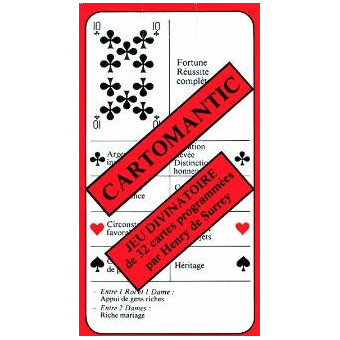 Cartes : cartomantic