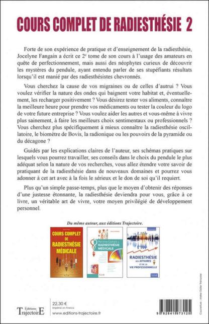 cours complet de radiesthésie tome 2 (verso)