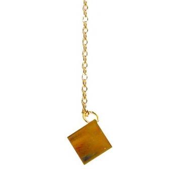 pendule carré d'or