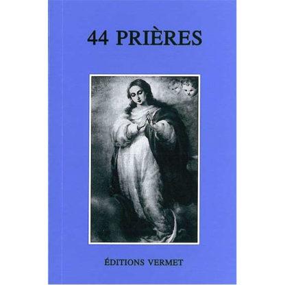 livre 44 prières