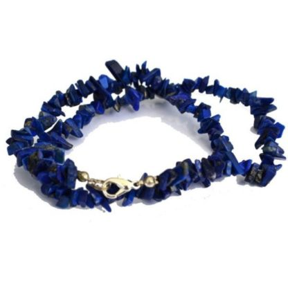 Collier baroque lapis lazuli
