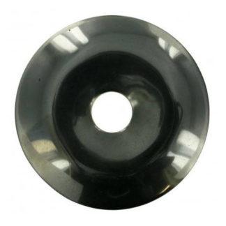 Pendentif donut hématite