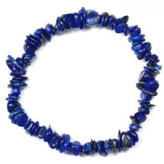 Bracelet baroque lapis lazuli