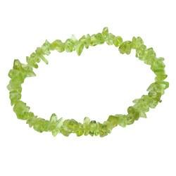 Bracelet baroque péridot (olivine)