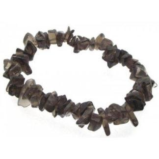 Bracelet baroque quartz fumé