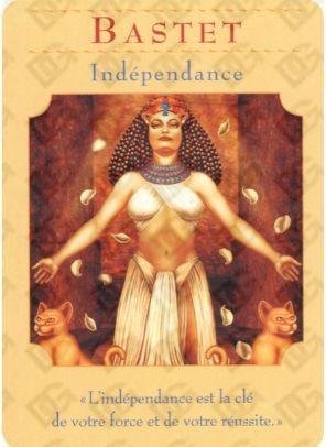 Carte oracle des déesses