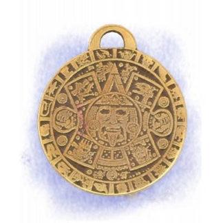 pendentif pentacle calendrier maya