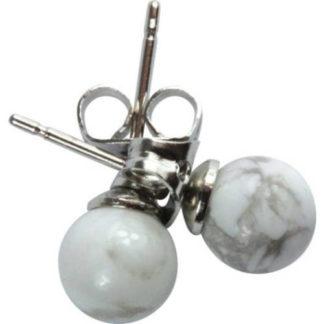 boucles d'oreilles magnésite