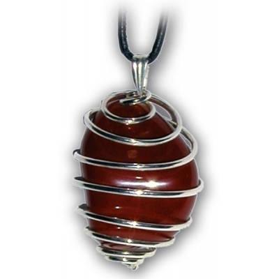 pendentif attache spiralée