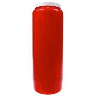bougie neuvaine rouge