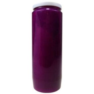 bougie neuvaine violette