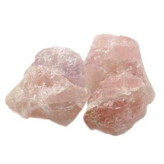pierre brute quartz rose