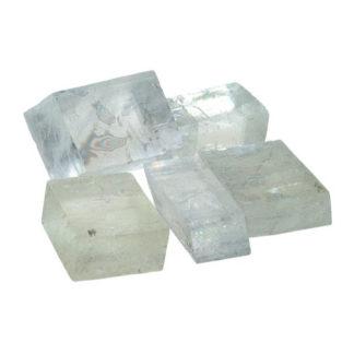 pierre brute calcite optique