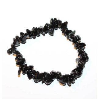 bracelet baroque obsidienne oeil céleste