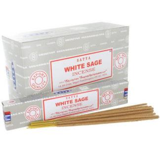 Encens bâtons satya sauge blanche