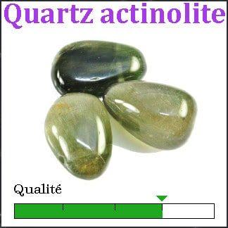 Quartz actinolite