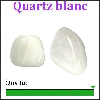 Quartz blanc