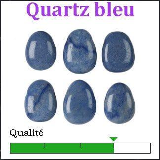 Quartz bleu