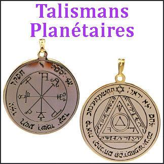 Talismans Planètes