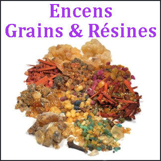 Encens grains & résines