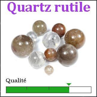 Quartz rutile