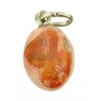 Pendentif opale feu