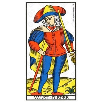 Tarot marseille ancien 3