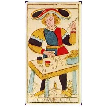 Tarot marseille Nicolas Conver 1