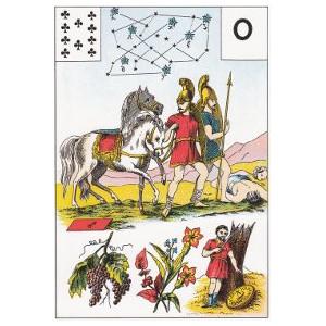 dix de trèfle la guerre de troie grand lenormand