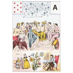 huit de carreau l'ordre du temps grand lenormand
