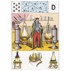 huite de trèfle la science hermétique grand lenormand