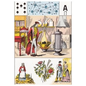 sept de pique science hermétique grand lenormand