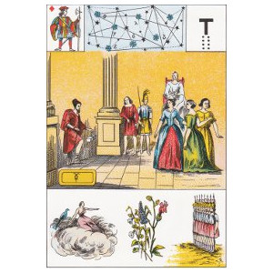 valet de carreau guerre de troie grand lenormand