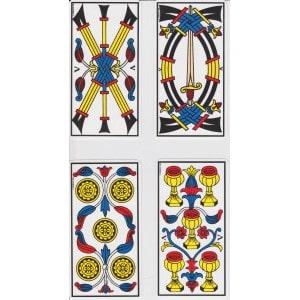 Les cinq tarot de Marseille
