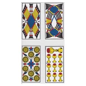 Les dix tarot de Marseille