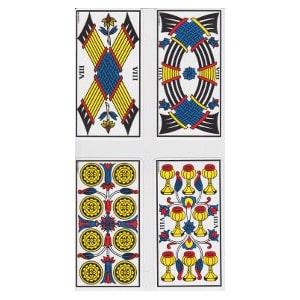 Les huit tarot de Marseille