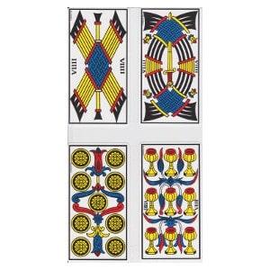 Les neuf tarot de Marseille