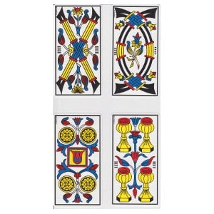 Les quatre tarot de Marseille