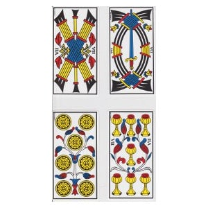 Les sept tarot de Marseille