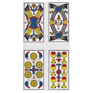 Les six tarot de Marseille