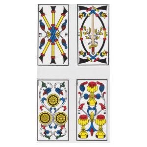 Les trois tarot de Marseille