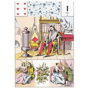 six de coeur la science hermétique grand lenormand